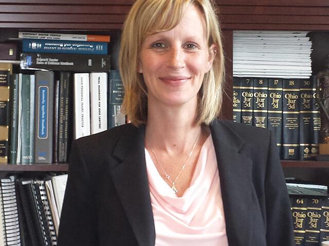 Lindsay Rump, new partner at Cetrulo, Mowery & Hicks